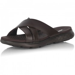 X SLIPPER-Brown MAN NHC104
